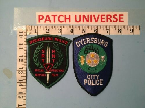 LOT OF 2 DIFFERENT  DYERSBURG  TENNESSEE  SHOULDER PATCHES  A016