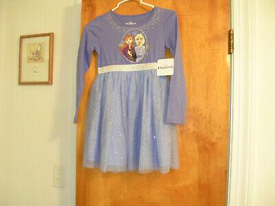Disney Frozen 2 Girls dress size 6x NWT