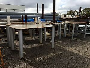 SOLID STEEL TOOL BENCHES - EXTRA HEAVY DUTY Kewdale Belmont Area Preview