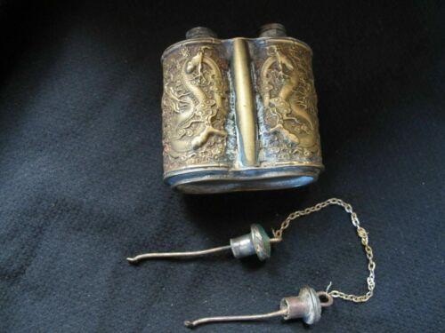 Chinese Antique Bronze/Brass Snuff Bottle