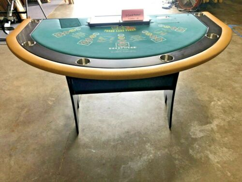 Professional Size 3 Card Poker Table (D) (USED)