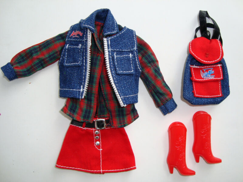 Barbie Clothes/Fashion Outfit W/ Backpack & Boots NEW! CUTE!