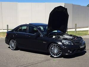 2010 Mercedes Benz C63 AMG 7 Speed Automatic Roselands Canterbury Area Preview