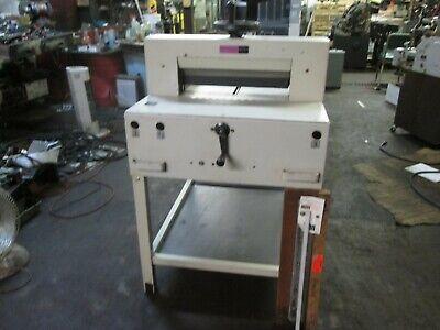 Ideal 482 Paper Cutter Very Clean 18.5
