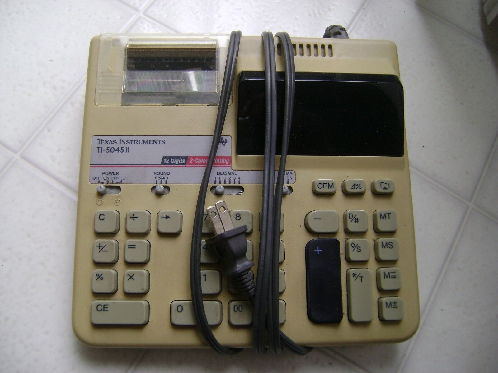 TI - 5045 II office Calculator  -  Make Offer !!!!