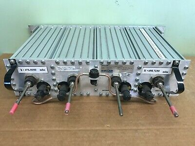 Sinclair Vhf Res-lok Duplexer Q-circuit 4 Cavity Rack Mount 406-512 Mhz Q3220e