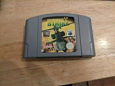 Nintendo 64 N64 Nuclear Strike 64 getestet