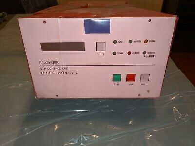 Edwards Seiko Seiki Stp-301cvb Turbomolecular Pump Control Unit 100-120v