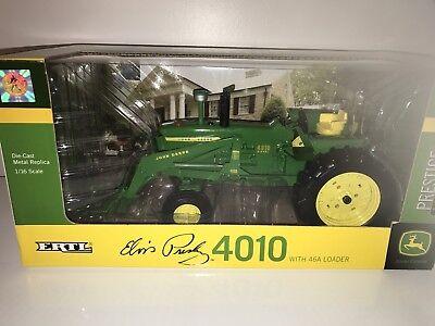 (Ertl John Deere 4010 Tractor With 46A Loader Elvis Presley Die Cast NIB)