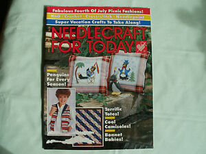 NEEDLECRAFT FOR TODAY - JUL/AUG 86