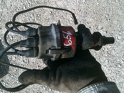 Farmall 656 Rowcrop Tractor Ih Engine Motor Distributor Drive W Plug Wires