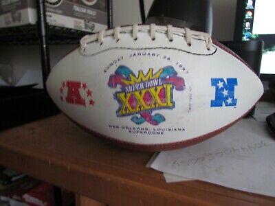 Hutch Super Bowl XXXI Football New England Patriots Vs Green Bay Packers