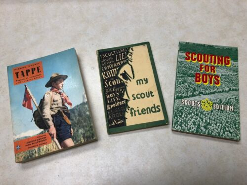 Lot of 3 Foreign Scout Books