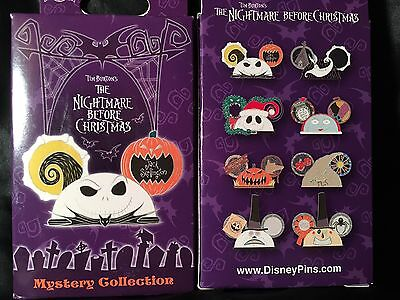 Disney Nightmare Before Christmas Ornament Serie Mystery Collection 2 pin In Box