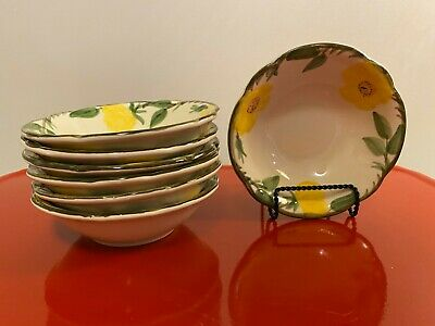 Vintage Franciscan Yellow Meadow Rose Berry Sauce Bowl Yellow Rose Bowls