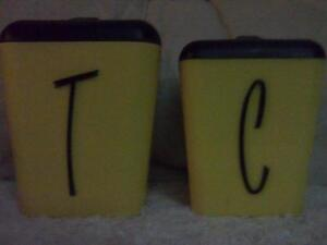 Gay Ware Tea & Coffee Cannisters Taree Greater Taree Area Preview