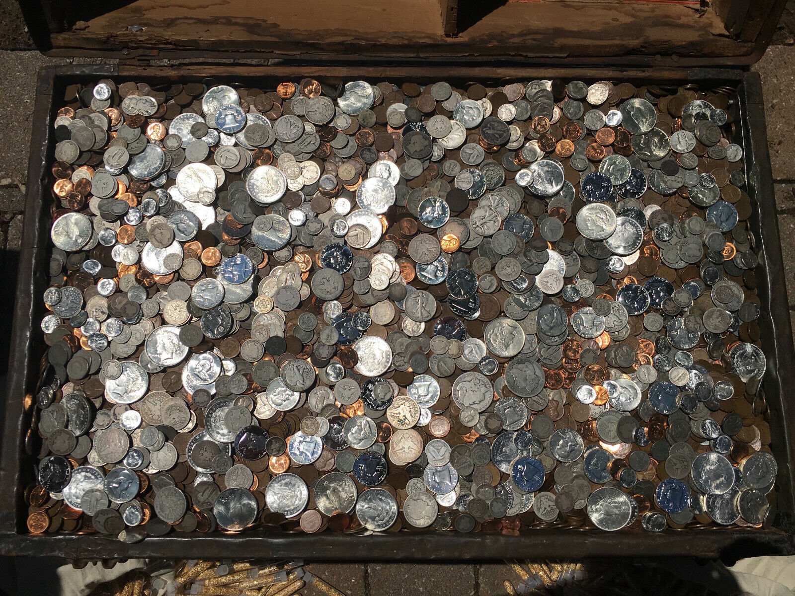 OLD US MIXED COIN LOT SILVER GOLD BULLION ESTATE SALE COLLECTION LIQUIDATION PDS