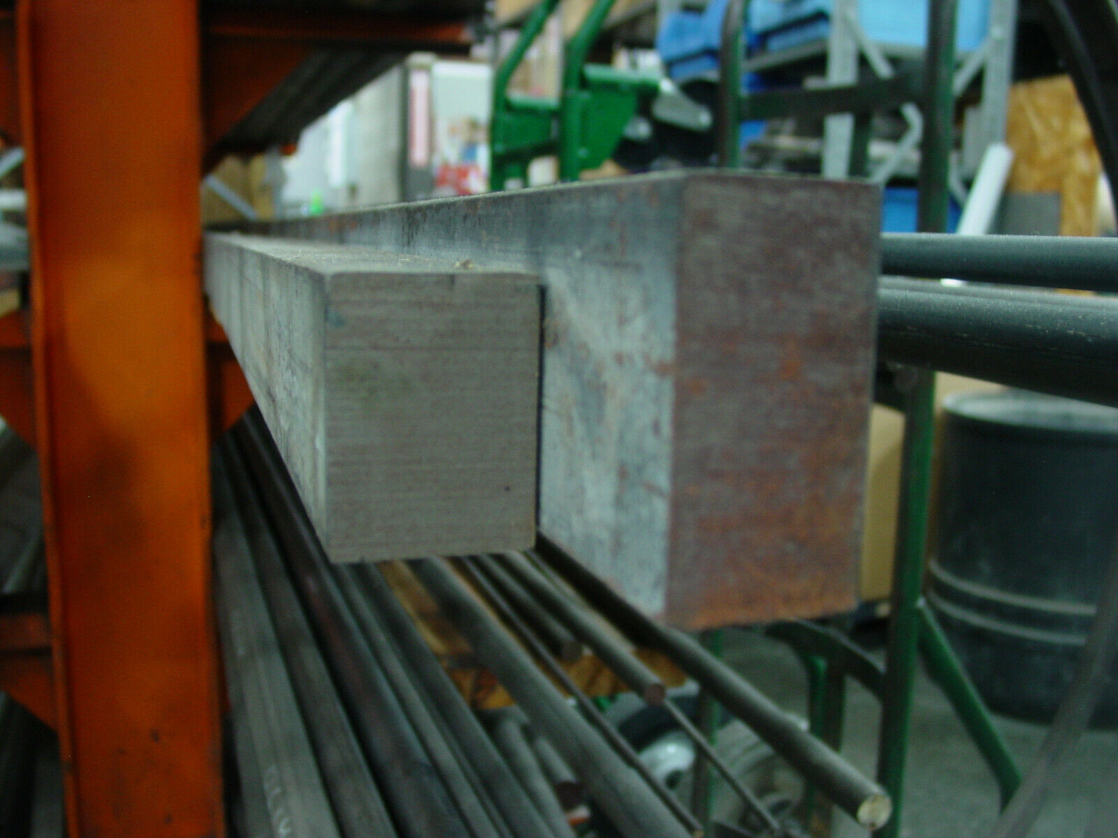 "2"" x 3"" Mild Steel Bar SOLD BY INCH up to 72"" long - 13"" MIN"