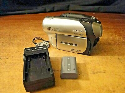Sony Handycam DVD Digital Camcorder Camera, DVD92, 20x optical, with extras for sale  Shipping to India