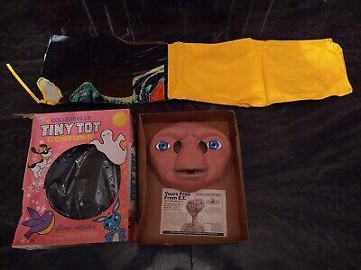 Vintage E.T. Halloween Costume - Collegeville Tiny Tot in Original Box