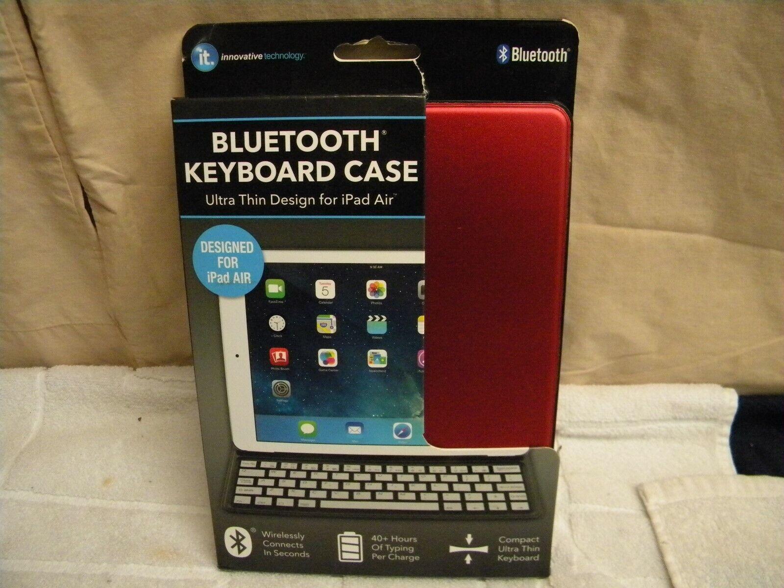 Ultra Thin Bluetooth Keyboard Case - iPad Air Innovative Tec
