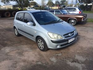 """2006 Hyundai Getz Hatch """"FREE 1 YEAR WARRANTY"""" Welshpool Canning Area Preview"""