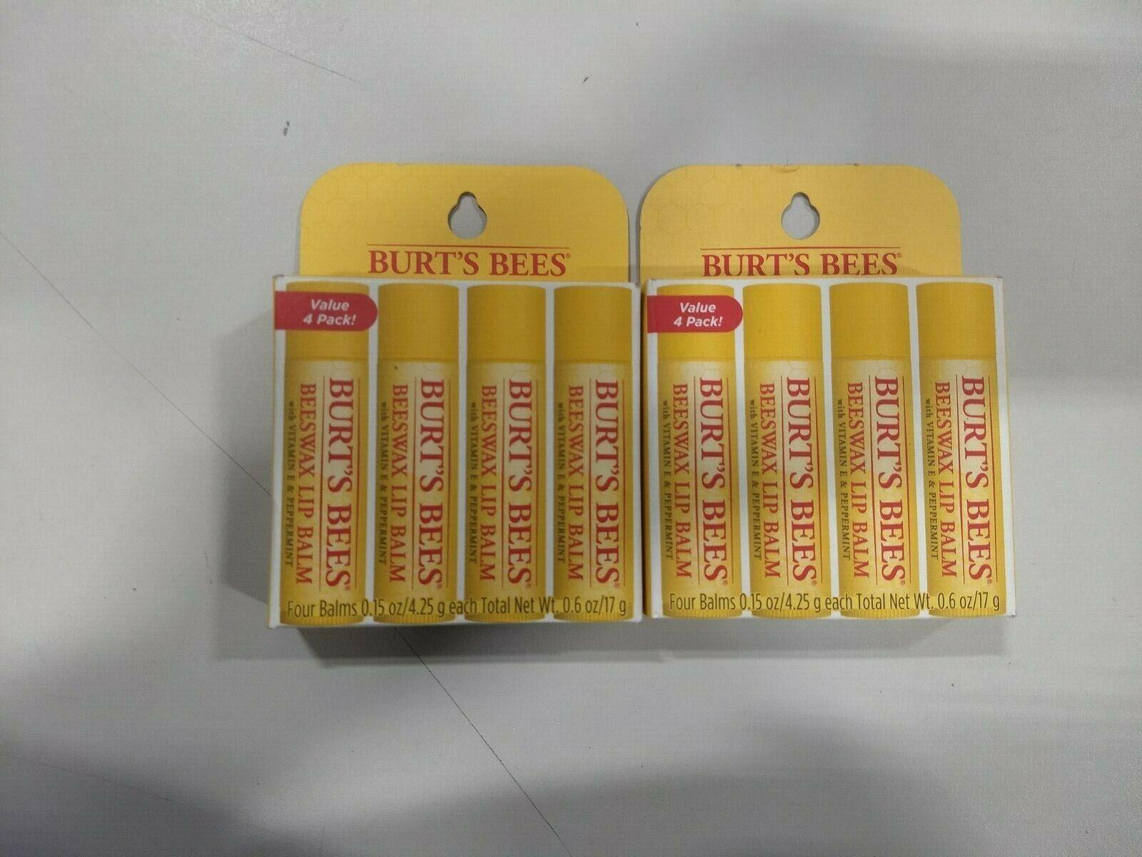 Beeswax Lip Balm 4 Pack 4/0.15 oz Balm