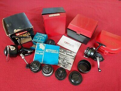 Vintage Mitchell 208 Mitchell 300 Boxes Mitchell Spools Intrepid regent