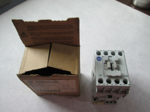 New Allen Bradley 700-CF220D Four Pole Relay With 120 Volt Coil