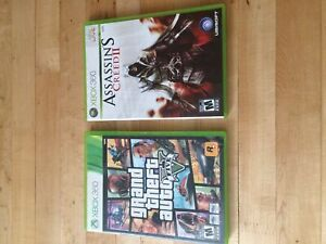 GTA 5, Assassin's Creed 2 Bundle Xbox 360