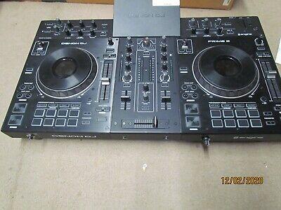 Denon DJ Prime 2 Standalone 2-Deck  DJ Console   Pre owned In great shape