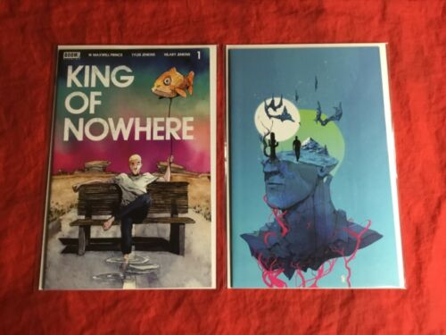 KING OF NOWHERE #1~TWO BOOK SET~W. MAXWELL PRINCE TYLER JENKINS STORY & ART~NM~