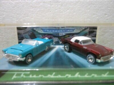 Hot Wheels 1957 Thunderbird 40th Anniversary 2-Car Set-1:64 scale LIMITED ED.