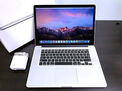 """APPLE MacBook Pro 15"""" Retina / 512GB SSD / QUAD Core i7 / 16GB RAM / Warranty!"""