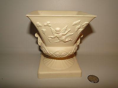 REGOLINE CHERUB Plastic Vase Planter W/ GRAPE VINES U.S.A., 5 1/4