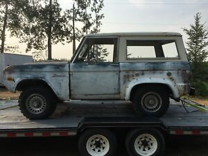 1976 Ford Bronco - Patina for a Rat Rod Project
