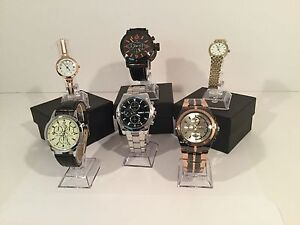 """Men's and Lady's Quartz Watch Clearance """"2 for $30"""""""