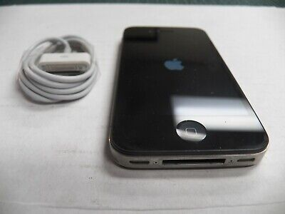 Apple iPhone 4s 16GB Black AT&T Cricket Straight Talk A1387 FREE BUNDLE & SHIP!