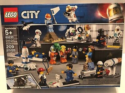LEGO - City People Pack - Space Research and Development 60230 - Sealed, 15 Figs