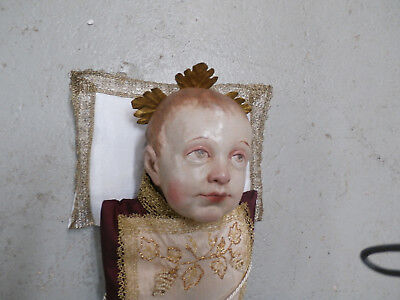 barockes fatschenkindl , christkindl , christi geburt , jesulein  19.-20. jh.