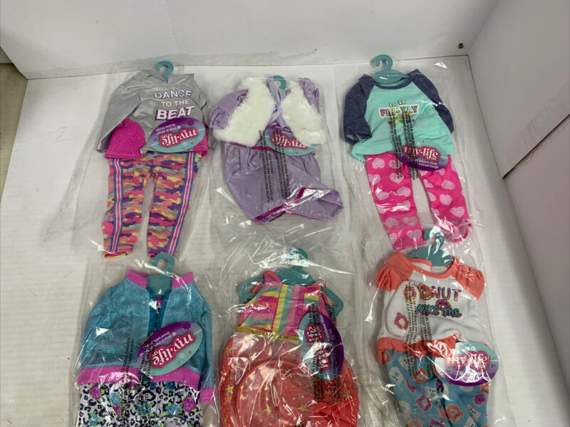 My Life as Girls Clothing Sets (Lot of 6)   New with Original Tags & Hangers