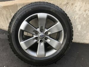 Truck tires, 20 inch, winter studded on rims, qty 4