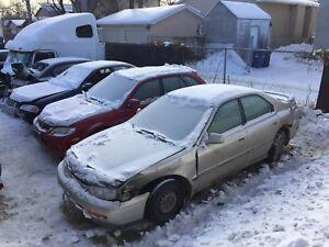 1995 Honda Accord es parts