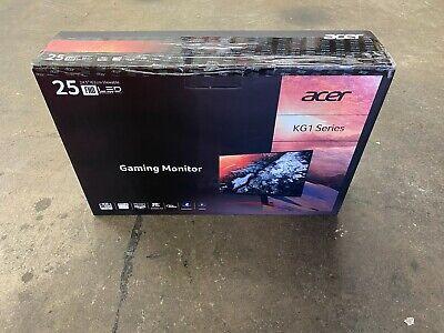 "ACER KG251Q FBMIDPX 24.5"" FULL HD TN 144Hz GAMING MONITOR W/ FREESYNC BRAND NEW"