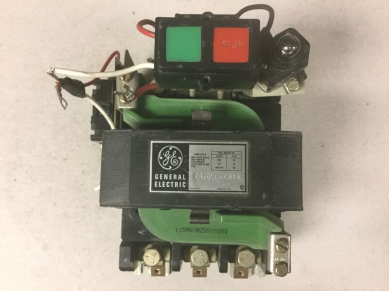 General Electric GE CR205E100BTA Size 3 Motor Starter With 120 Volt Coil