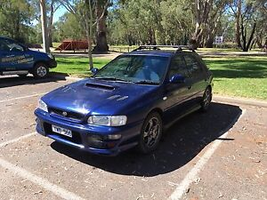2000 Subaru Impreza WRX GF8 Manual Wagon Benalla Benalla Area Preview