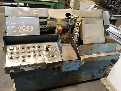 Doall C-305 Nc Horizontal Tilting Metal Band Saw Steelwork Free Fr8 To Lower 48