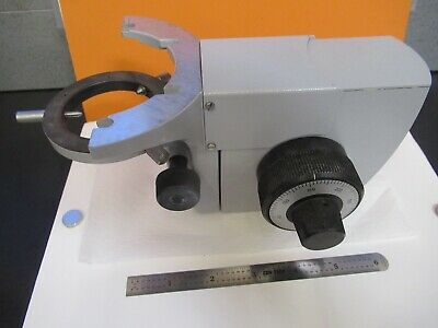 Zeiss Germany Stage Condenser Holder Microscope Part As Pictured Ft-2-101