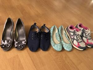 Shoes for sale, size 6 $20 for everything