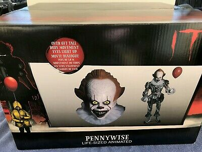 Pre-Order Halloween IT THE MOVIE PENNYWISE THE ANIMATED CLOWN Prop NEW FREE SHIP - Animated Halloween Movies